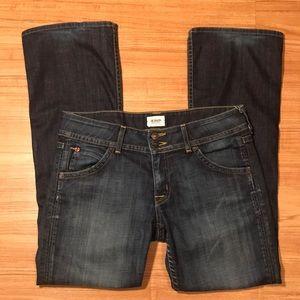 Hudson Bootcut dark blue elm 30x30 wp170dha